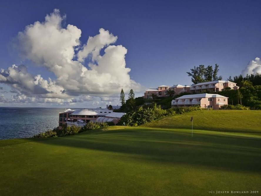 Golf tournament in Bermuda